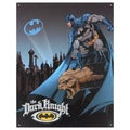 Vintage Metal Art 'The Dark Knight' Decorative Tin Sign