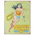 Vintage Metal Art 'Wonder Woman Retro' Decorative Tin Sign