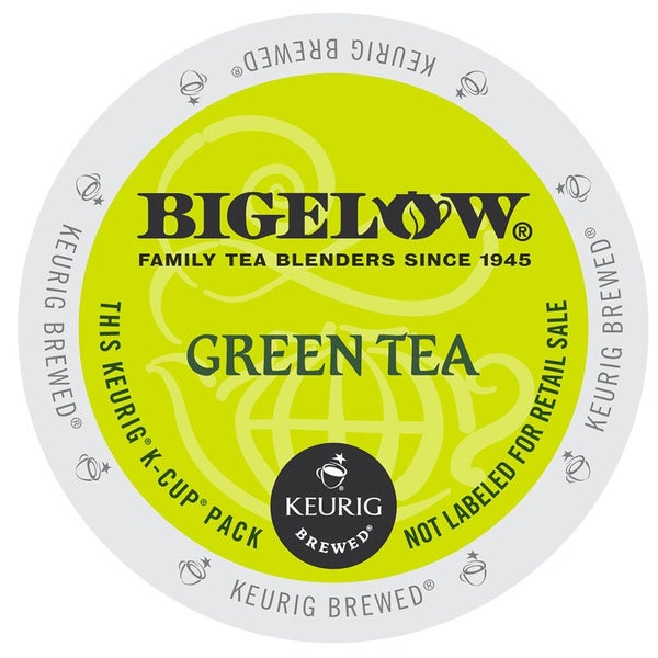 Bigelow Green Tea, K-Cup Portion Pack for Keurig Brewers