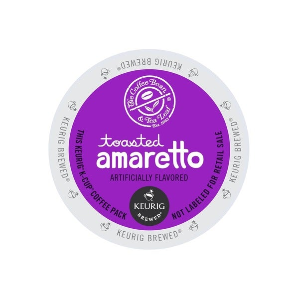 The Coffee Bean & Tea Leaf Toasted Amaretto K-cup Portion Pack for Keurig Brewers (48 or 96 count)