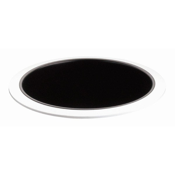 Raptor Lighting 8-inch Recessed Trim Compact Fluorescent Black Baffle Horizontal Lamp