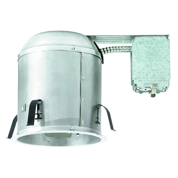 Raptor Lighting 6-inch Remodel Housing Insulated Ceiling Enclosed Housing Ceiling Light