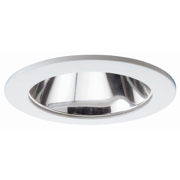 Raptor Lighting 6-inch Recessed Trim Compact Fluorescent Clear Reflector Horizontal Lamp