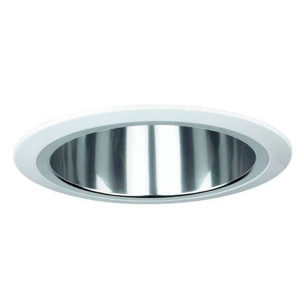 Raptor Lighting 6-inch Recessed Trim Compact Fluorescent Clear Reflector Vertical Lamp