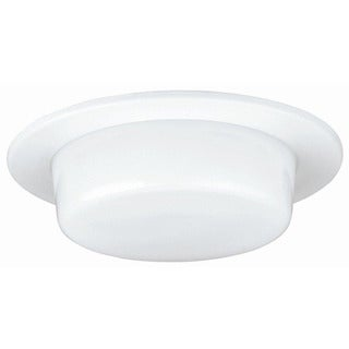 Raptor Lighting 6-inch Recessed Shower Trim Dropped Lens A19-IC A19 Non-IC