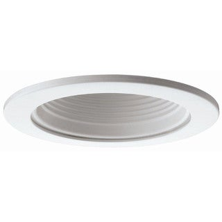 Raptor Lighting 6-inch Recessed Air Tight Trim White Baffle BR30/ PAR30 Ceiling Light