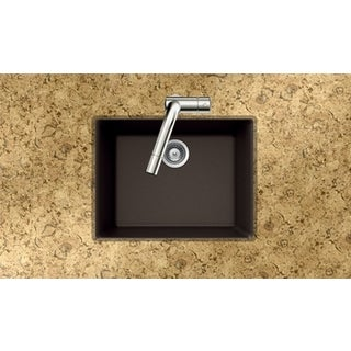 Houzer Quartztone Series Mocha Undermount Single Bowl
