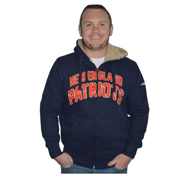 New England Patriots NFL Sherpa Hooded Jacket