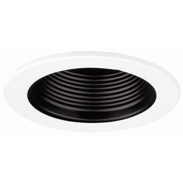 Raptor Lighting 4-inch RECESSED TRIM BLACK BAFFLE, 50W MAX, R20/PAR20