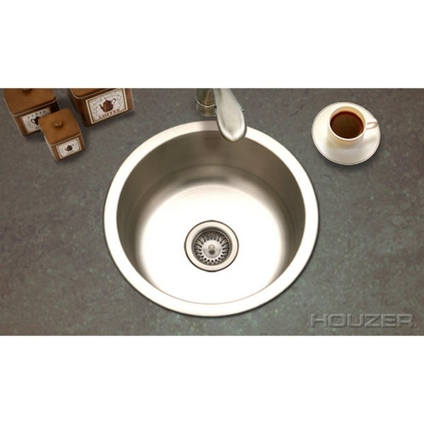 Houzer Hospitality Round Prep Sink - Overstock Shopping - The Best ...