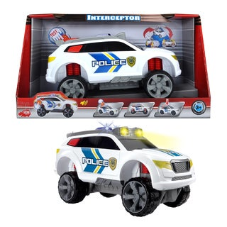 Dickie Toys Action Series Police Interceptor Transforming Vehicle