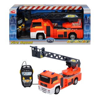 Dickie Toys Remote Controlled Fire Squad Fire Truck