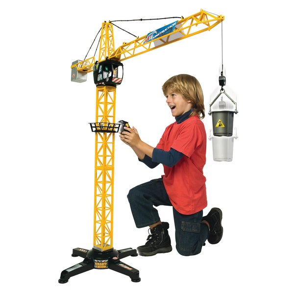 Dickie Toys Giant Remote Control Construction Crane