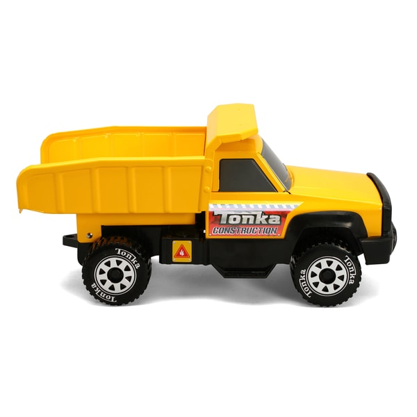Funrise toy tonka classic steel quarry dump truck for Tonka mighty motorized cement mixer