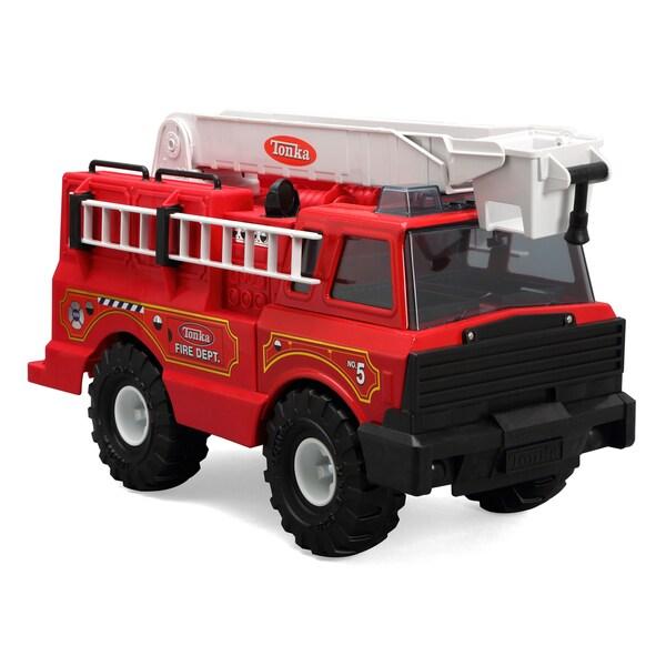Toy Tonka Classics Steel Fire Truck
