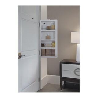 Cabidor Mirrored Mini Storage Cabinet