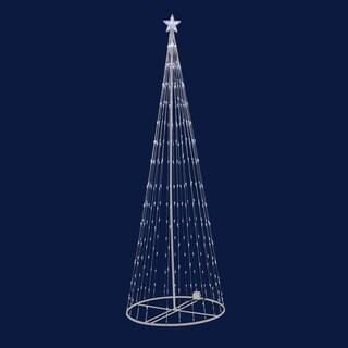 6-foot 200 Warm White LED Light Show Tree