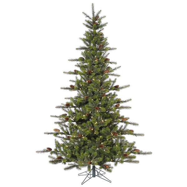 8.5-foot Timbercrest Spruce with 700 Warm White Lights