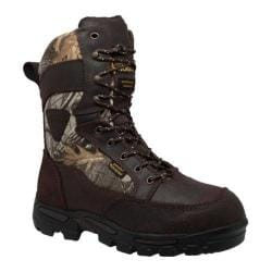 Men's AdTec 1600 11in Waterproof Realtree 400G Camo Boot Dark Brown Leather/Realtree®