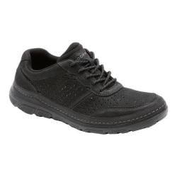 Men's Rockport Activflex Sport Perf Mudguard Black Leather