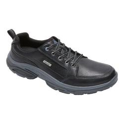 Men's Rockport Weather Adventure Waterproof Blucher Oxford Black Leather