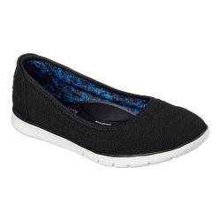 Women's Skechers BOBS Pureflex Supastar Flat Black/Black