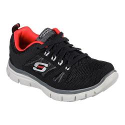 Boys' Skechers Flex Advantage Black/Red