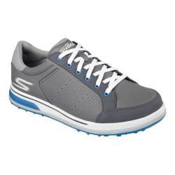 Men's Skechers GO GOLF Drive 2 Sneaker Charcoal/Blue