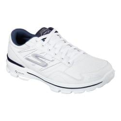 Men's Skechers GOwalk 3 Compete LT Sneaker White/Navy