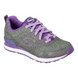 Girls' Skechers Retrospect Shinetime Sneaker Purple/Green