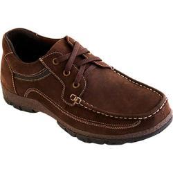 Men's Tansmith Brady 371072 Moc Toe Nubuck Oxford Brown Nubuck