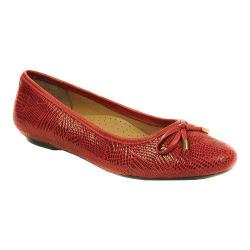 Women's VANELi Signy Flat Red Patchwork Print/Red Nappa
