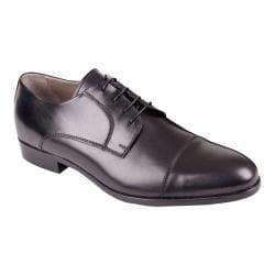 Men's Giovanni Marquez 1115 Vitello Cap Toe Blucher Nero Leather