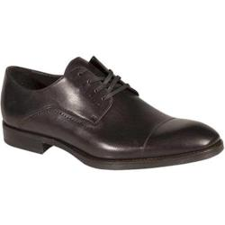 Men's Bacco Bucci Celta Cap Toe Oxford Graphite Calfskin