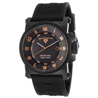 Swiss Legend Men's SL-40030-BB-01-RA Sportiva Black Watch