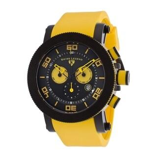 Swiss Legend Men's SL-30465-BB-01-YAS Cyclone Black Watch