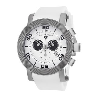 Swiss Legend Men's SL-30465-02-WHT-BKA Cyclone White Watch