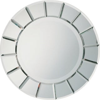 Sun Shaped Contemporary Wall Mirror