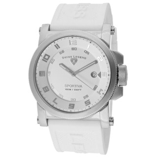 Swiss Legend Men's SL-40030-02 Sportiva White Watch