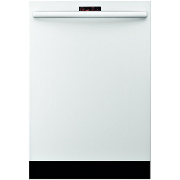 Bosch SHX68R52UC White Built-in Semi-integrated Dishwasher