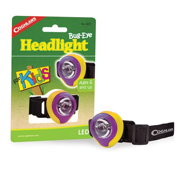 Coghlan's Bug Eye LED Kids' Headlight
