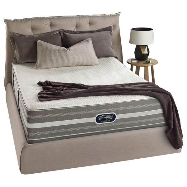Beautyrest Hybrid Harley Way Plush Cal King-size Mattress Set