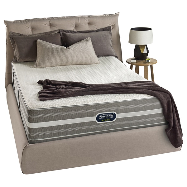 Beautyrest Hybrid Sands Street Luxury Firm Cal King-size Mattress Set