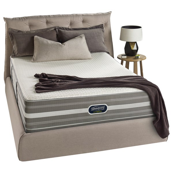 Beautyrest Hybrid Sands Street Luxury Firm Queen-size Mattress Set