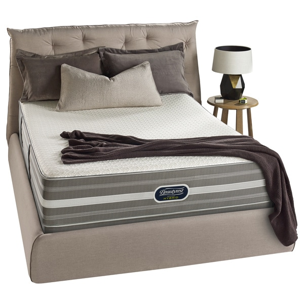 Beautyrest Hybrid Gibson Circle Luxury Firm King-size Mattress Set