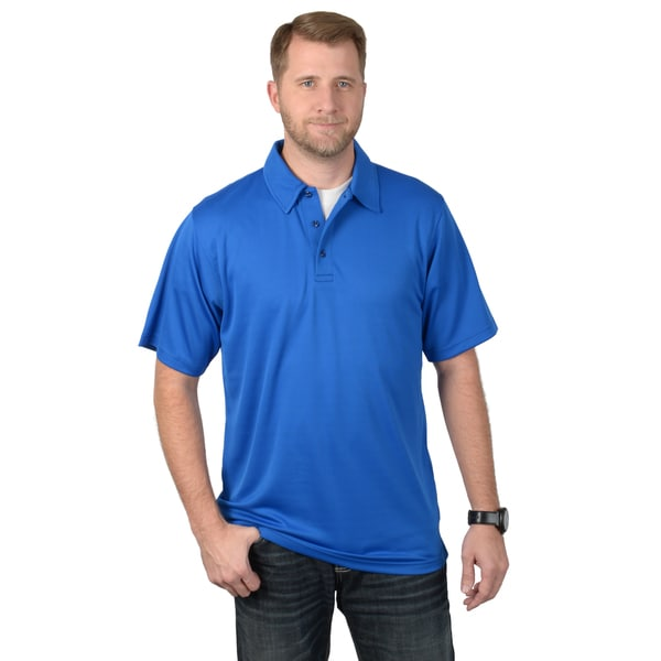 Vance Co. Men's Cool and Dry Short-sleeve Performance Polo Shirt