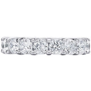 Amore Platinum 5ct TDW Diamond Wedding Band (G-H, SI1-SI2)