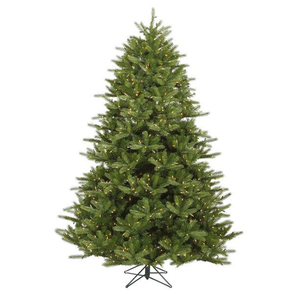 7.5-foot x 63-inch Majestic Fras Dura-Lit Tree with 1150 Clear Lights