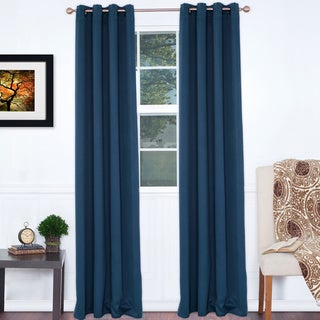 Lavish Home 84-inch Blackout Curtain Panel Pair