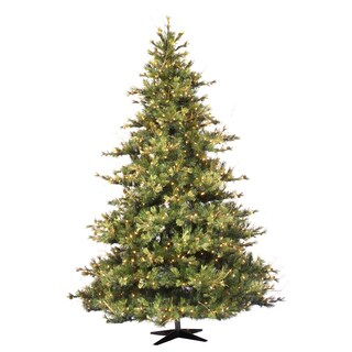7.5-foot x 63-inch Mixed Country Dura-Lit Tree 800 Clear Lights